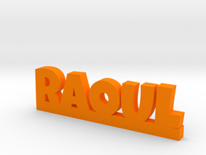 RAOUL Lucky in Orange Processed Versatile Plastic