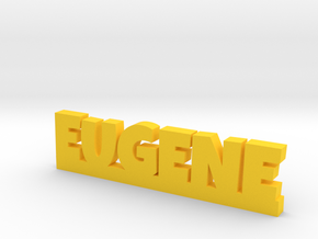 EUGENE Lucky in Yellow Processed Versatile Plastic