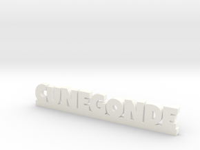 CUNEGONDE Lucky in White Processed Versatile Plastic