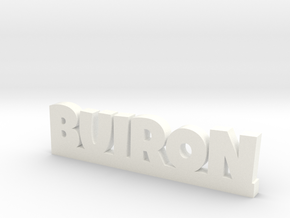BUIRON Lucky in White Processed Versatile Plastic