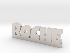 ROCHE Lucky in Rhodium Plated Brass