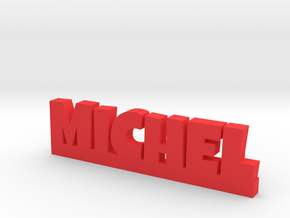 MICHEL Lucky in Red Processed Versatile Plastic