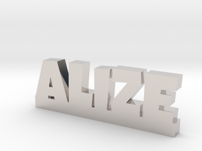 ALIZE Lucky in Rhodium Plated Brass