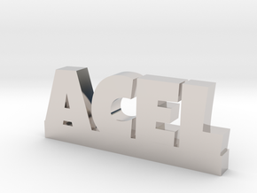 ACEL Lucky in Rhodium Plated Brass
