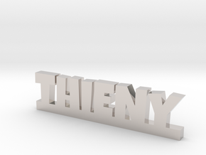 THIENY Lucky in Rhodium Plated Brass