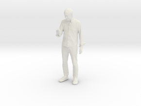 Printle C Homme 055 - 1/43 - wob in White Natural Versatile Plastic