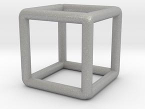 Building Cube Pendant in Aluminum