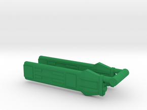 KWB Type B Klingon Warp Nacelle in Green Strong & Flexible Polished