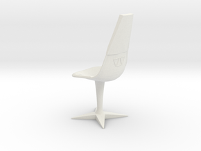 Swivel Chair (Star Trek Classic), 1/9 in White Natural Versatile Plastic