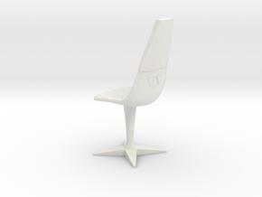 Swivel Chair (Star Trek Classic), 1/9 in White Natural Versatile Plastic
