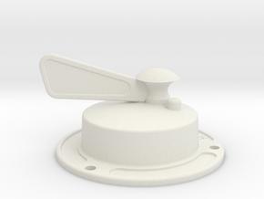Magneto Switch in White Natural Versatile Plastic