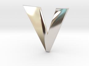 Distorted letter V in Platinum