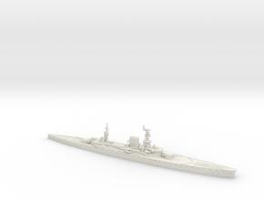 HMS Courageous 1/700 in White Natural Versatile Plastic