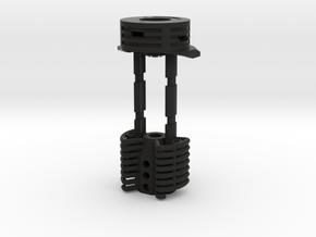 Crystal Chamber for Korbanth DV6 in Black Natural Versatile Plastic