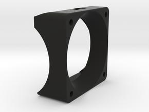 Turbo Fan Booster for 40mm fans in Black Natural Versatile Plastic