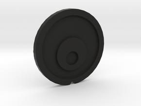 Sy-Klone Radar Plate VINTAGE in Black Natural Versatile Plastic