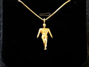 Pendant - Taebaek in 14k Gold Plated Brass