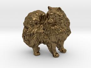 Custom Pomeranian Dog in Natural Bronze