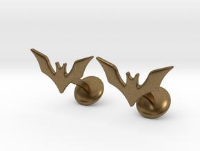 The Batman Beyond Cufflinks in Natural Bronze