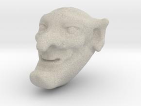 Mr Punch in Sandstone