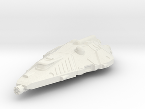 Terran Fighter, Flying in White Natural Versatile Plastic