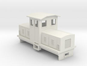 HOn30 Electric Centrecab Locomotive (Jennifer 1) in White Natural Versatile Plastic