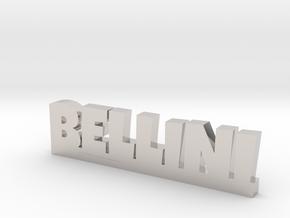 BELLINI Lucky in Rhodium Plated Brass