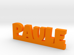 PAULE Lucky in Orange Processed Versatile Plastic
