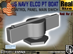 PT Boat Control Panel Main Swich in White Strong & Flexible Polished