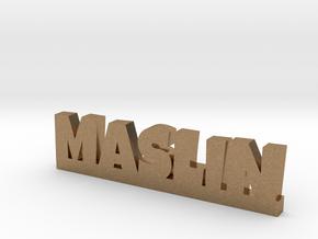 MASLIN Lucky in Natural Brass