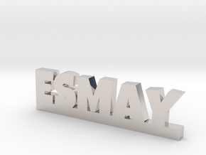 ESMAY Lucky in Rhodium Plated Brass