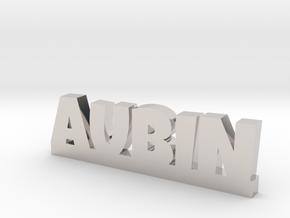 AUBIN Lucky in Rhodium Plated Brass