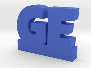 GE Lucky in Blue Processed Versatile Plastic