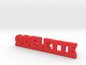 ODELETTE Lucky in Red Processed Versatile Plastic