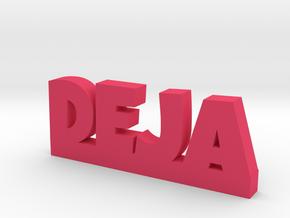DEJA Lucky in Pink Processed Versatile Plastic