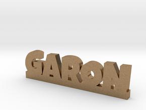 GARON Lucky in Natural Brass