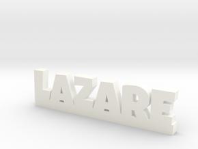 LAZARE Lucky in White Processed Versatile Plastic