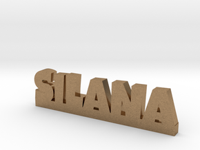 SILANA Lucky in Natural Brass