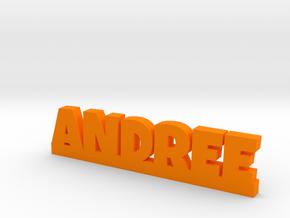 ANDREE Lucky in Orange Processed Versatile Plastic
