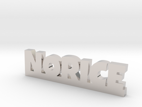 NORICE Lucky in Rhodium Plated Brass