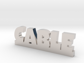 CABLE Lucky in Rhodium Plated Brass
