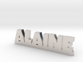 ALAINE Lucky in Rhodium Plated Brass