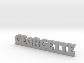 GEORGETTE Lucky in Aluminum