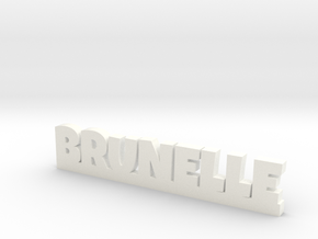BRUNELLE Lucky in White Processed Versatile Plastic