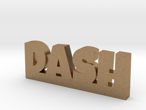 DASH Lucky in Natural Brass