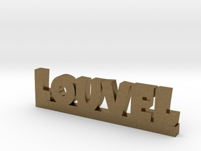 LOUVEL Lucky in Natural Bronze