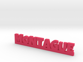 MONTAGUE Lucky in Pink Processed Versatile Plastic