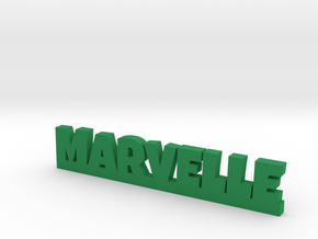 MARVELLE Lucky in Green Processed Versatile Plastic