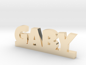 GABY Lucky in 14k Gold Plated Brass