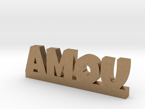 AMOU Lucky in Natural Brass